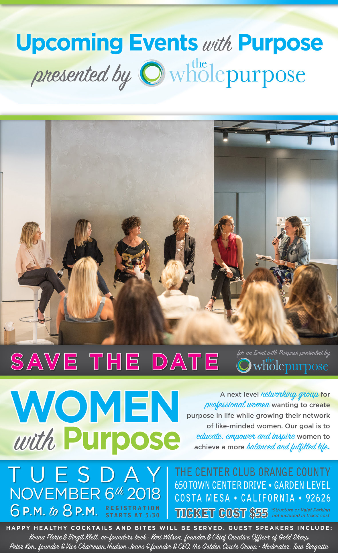 Women with Purpose event