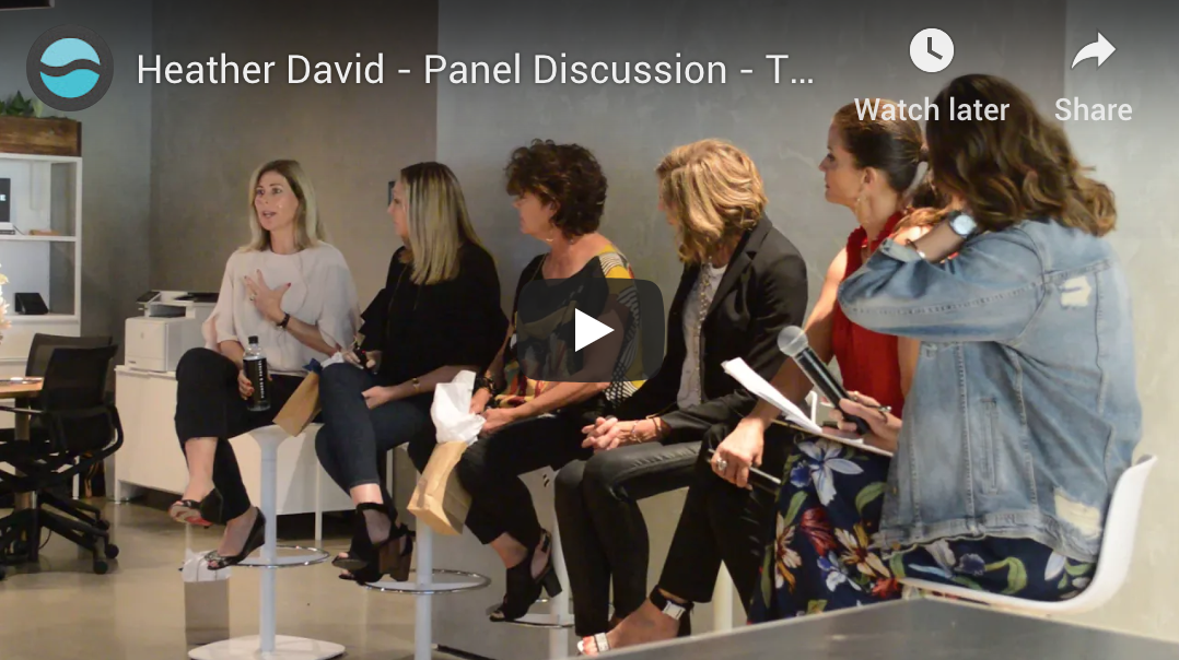 Heather David - Panel Discussion - Talks With Purpose Event