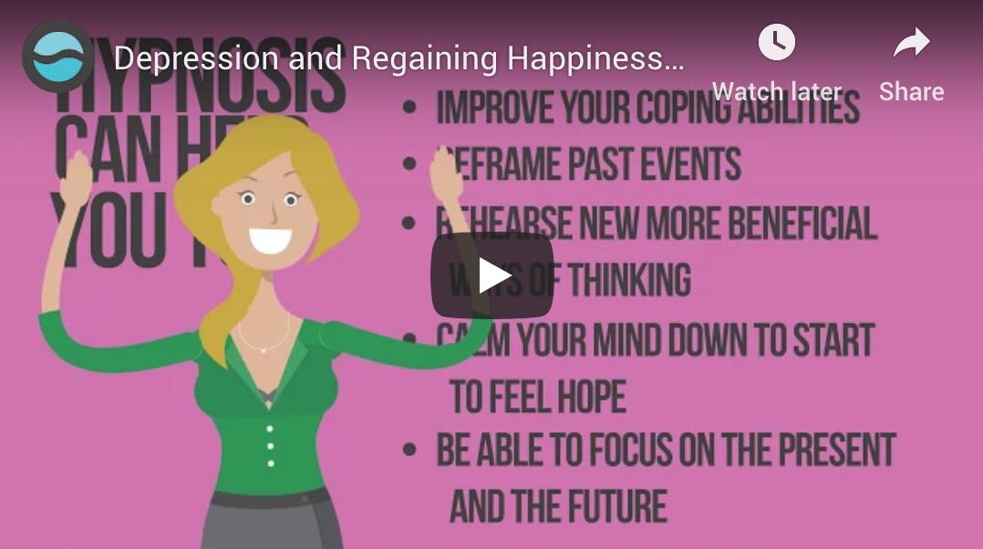 Depression and Regaining Happiness by Heather David, C. Hyp., RTT