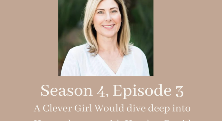 A Clever Girl Would dive deep into Hypnotherapy with Heather David