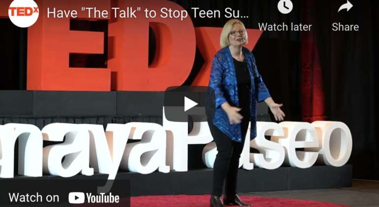 """Have """"The Talk"""" to Stop Teen Suicide 